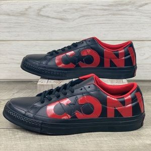 Converse One Star OX Black/Red